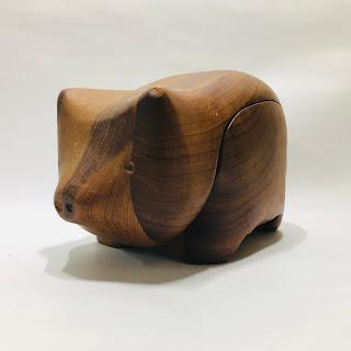 Deborah D Bump Wooden Pig