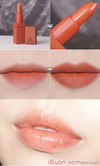 Bộ sưu tập Son lì 3CE Mood Recipe Matte Lip Color của Hàn Quốc + Hình 6