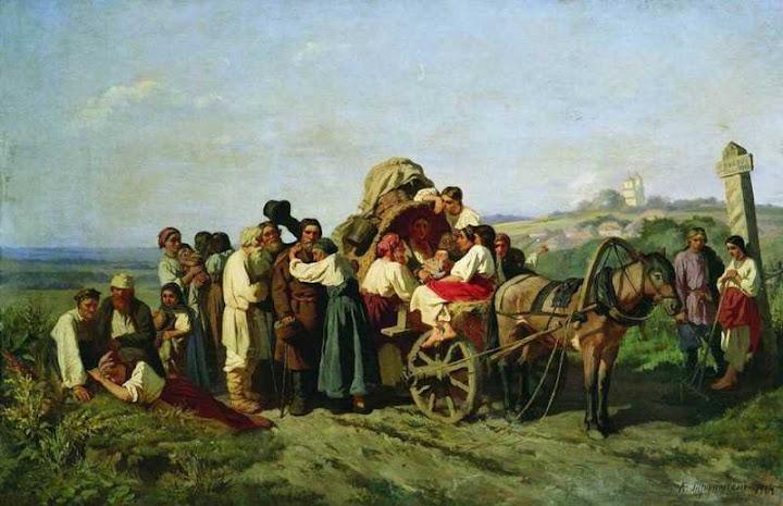 заселение западной сибири