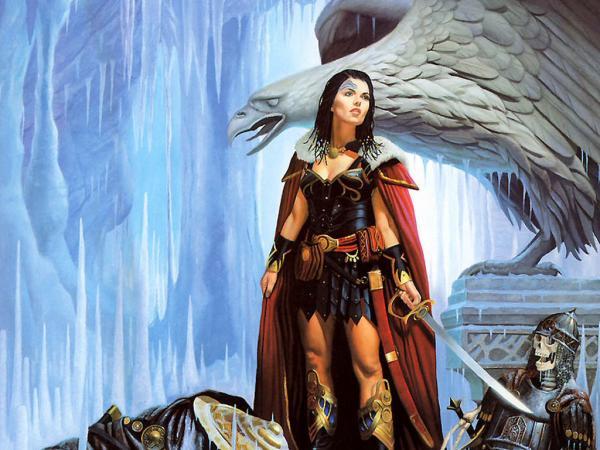 Stone Dragon And Warrior Girl, Beautiful Magic Girls 3