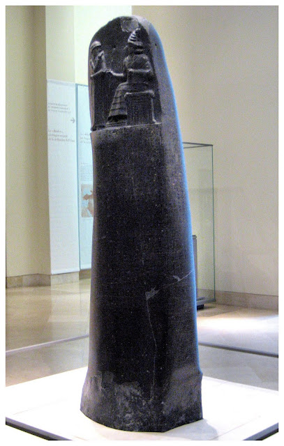 The Code of Hammurabi Louvre Museum