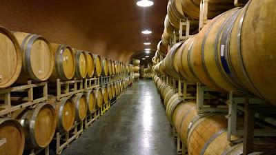 Wine tasting caves at Kunde Family Estate