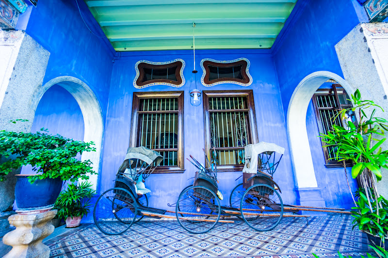 Penang Cheong Fatt Tze Mansion (Blue Mansion) rickshaw1