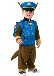 paw patrol costume chase