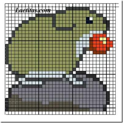 punto de cruz animales aves  (10)