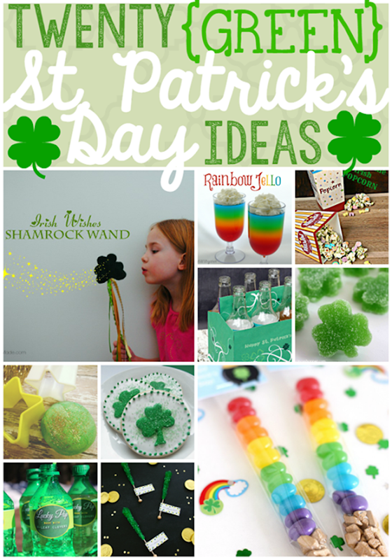 Twenty Green St. Patrick's Day Ideas at GingerSnapCrafts.com #stpattyday #crafts #recipes_thumb[1]