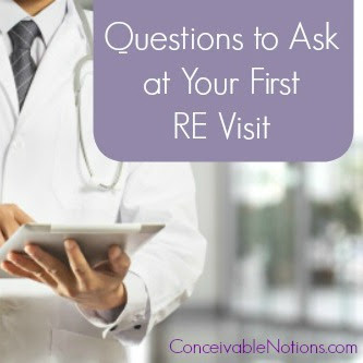 Questions to Ask at Your First RE Visit