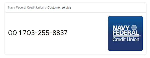 Navy Federal Customer Service Number
