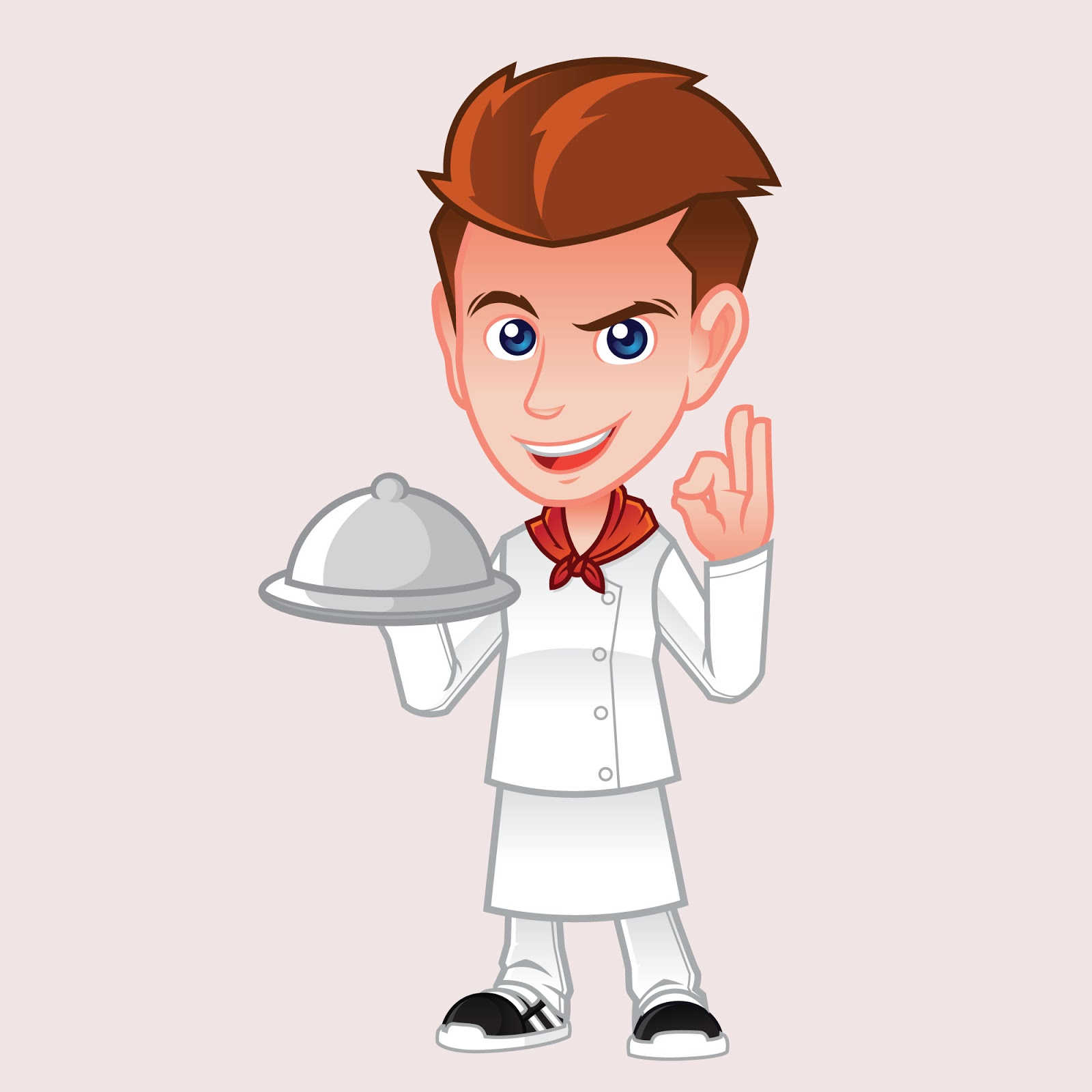 Chef Mascot Logo Free Download Vector CDR, AI, EPS and PNG Formats