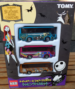 [JUAL] BUS TOMICA COLLECTION NIGHTMARE BEFORE CHRISTMAS (NEGO,, PREFER COD)