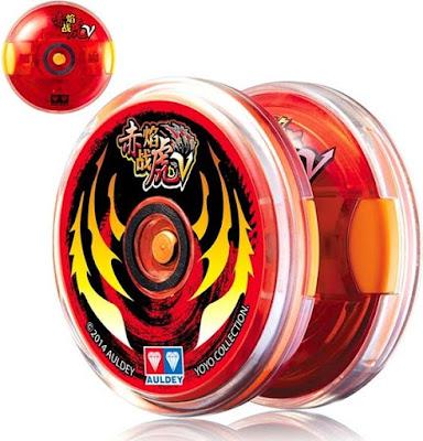Đồ chơi con quay Yoyo Thần Hổ Lửa Đỏ