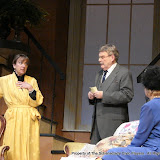 Benita Zahn, Richard Harte, Patricia Hoffman and Stephanie G. Insogna in THE ROYAL FAMILY (R) - December 2011.  Property of The Schenectady Civic Players Theater Archive.