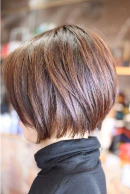 Trendy Brown Bob Hairstyles 2016