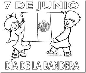 DIA DE LA BANDERA PERU 1