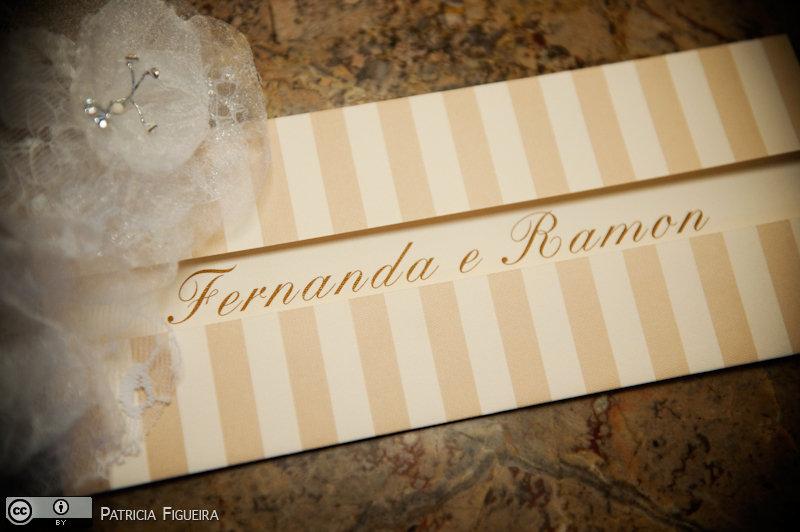 Foto de casamento 0058 de Fernanda e Ramon. Marcações: 23/07/2010, Casamento Fernanda e Ramon, Convite, Convite de Casamento, Rio de Janeiro.