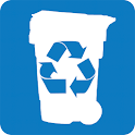 Garbage and Recycling Day icon