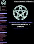 The Alexandrian Book Of Shadows