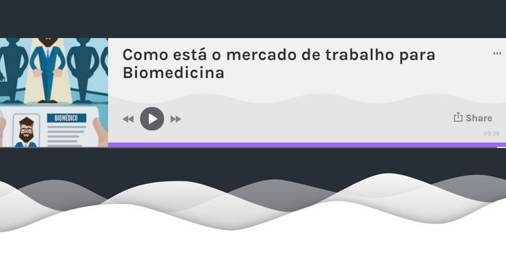 Mercado de trabalho Biomedicina