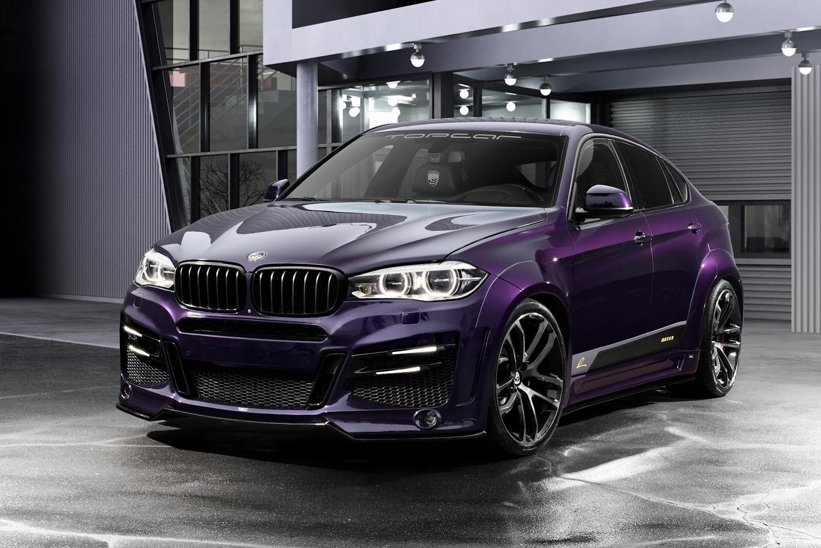 Topcar S Bmw Clr X6 R Coming With 555ps Xdrive50i