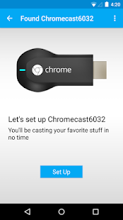 Chromecast- screenshot thumbnail
