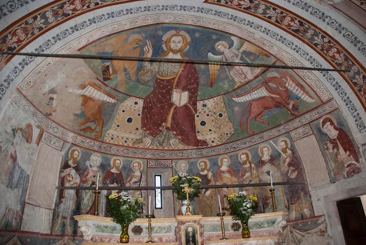 fotografie Affreschi della Cappella di Santa Maria delle Vigne a Mondovì