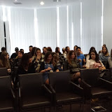 2018-05-04 1MIP i 2AD de visita a la Gastrofira acompanyats per la Noemí González exalumne d'Admnistració i Finances