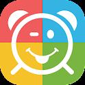 Alarm clock for Marshmallow icon
