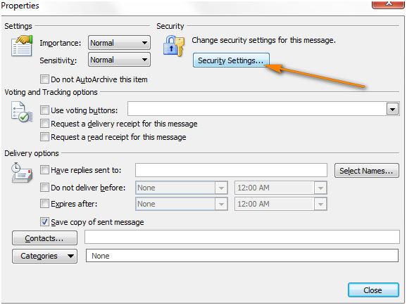 How To Encrypt Email Outlook 2010 Messages