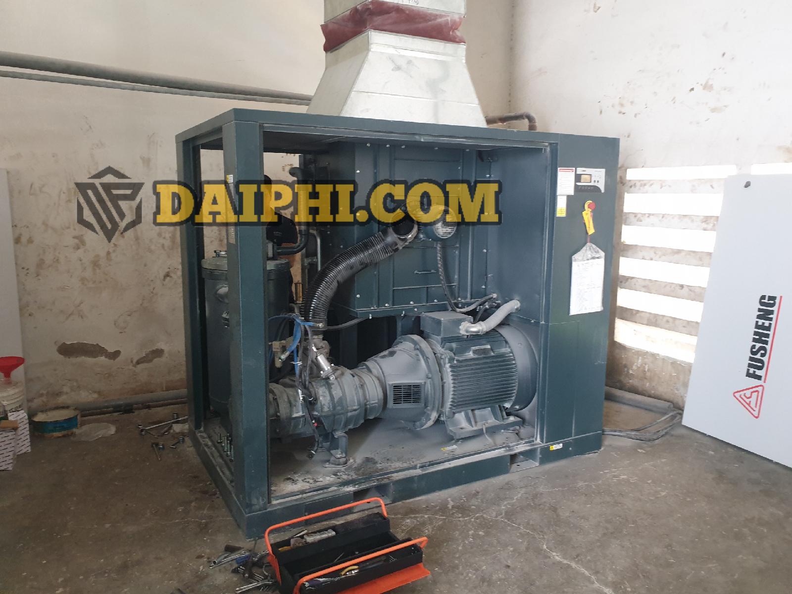 Bảo dưỡng máy nén khí Fusheng SA75A