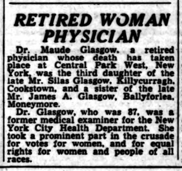 Glasgow Obituary