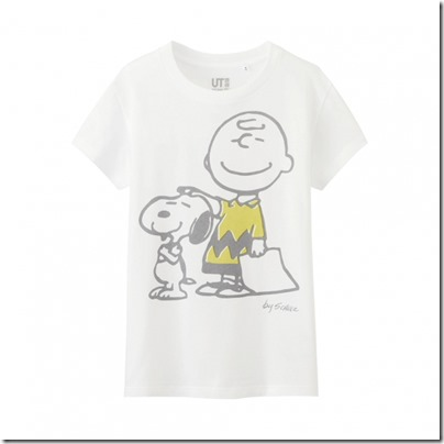 Uniqlo UT WOMEN Peanuts Short Sleeve Graphic T-Shirt 05