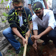 Venkatesh at Haritha Haram Program
