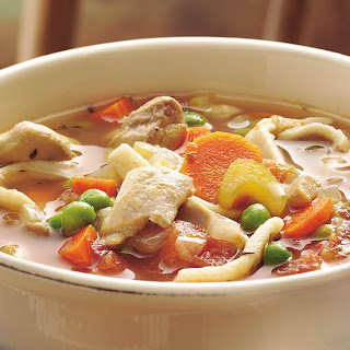 Slow-Cooker Grandma's Chicken Noodle Soup.