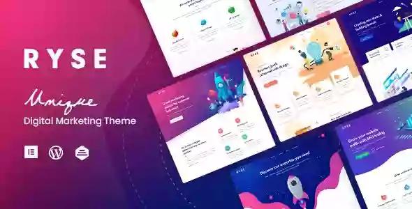 Ryse v1.3.2 – SEO & Digital Marketing Theme