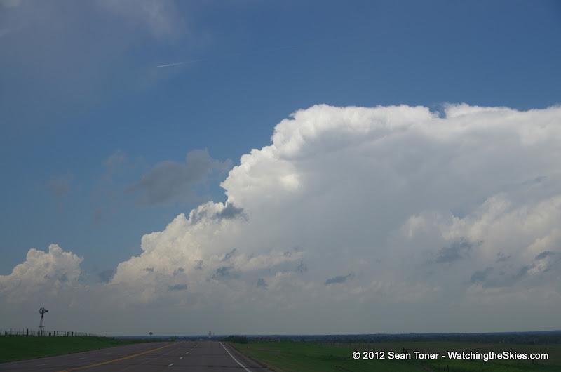 04-14-12 Oklahoma & Kansas Storm Chase - High Risk - IMGP0350.JPG