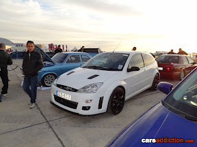 Ford Focus RS Replica in white