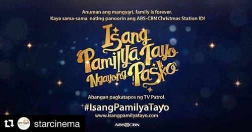 ABS-CBN Christmas Station ID 2016 - Isang Pamilya Tayo Ngayong Pasko