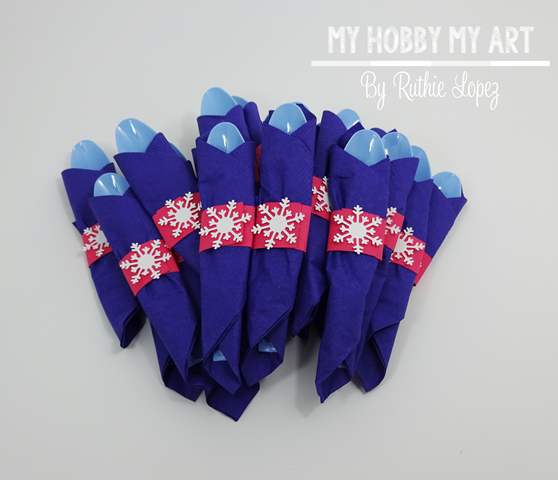 Frozen themed silverware, Frozen themed birthday party, Ruthie Lopez, My Hobby My Art