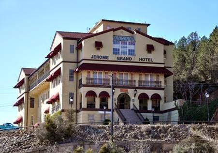 O ASSOMBRADO JEROME GRAND HOTEL ARIZONA