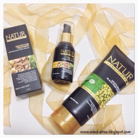 [Review] Natur Hair Beauty Experience - Shampoo, Serum, Conditioner, Hair Mask, Hair Mist