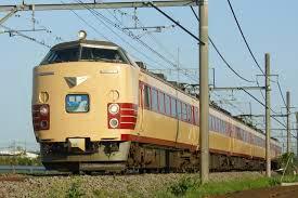 Tàu điện 485 Limited Express trong thực tế