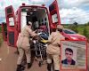URGENTE - Rodrigo Dettman, vítima de grave acidente em Rolim de Moura, não resistiu e faleceu nesta manhã de sábado em Cacoal