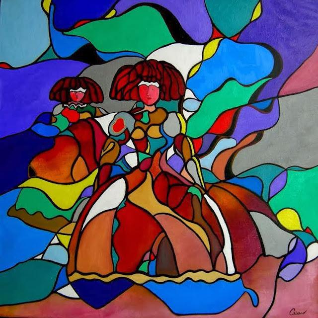 Meninas,pintura del pintor Ciriaco