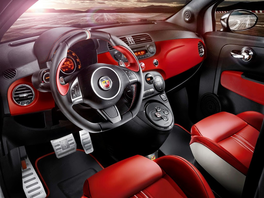 Fiat Abarth 595 50th Anniversary Edition Interior