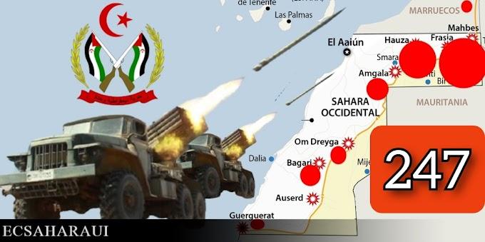 Parte de Guerra Nº247. Guerra del Sáhara Occidental.