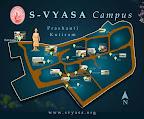 Prashanti Kutiram - Map