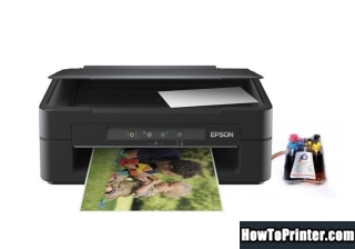 Reset Epson XP-100 Waste Ink Pads Counter overflow problem