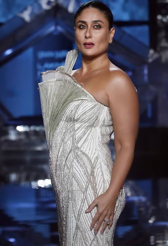 Bollywood Actress Actress Kareena Kapoor Khan Hot Fashion Show Photos