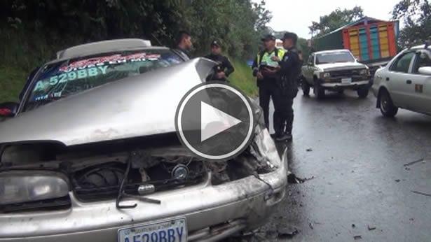 Accidente de transito deja varias personas con heridas