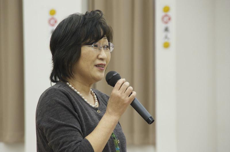小学校恩師:本田陽子先生に締めの乾杯